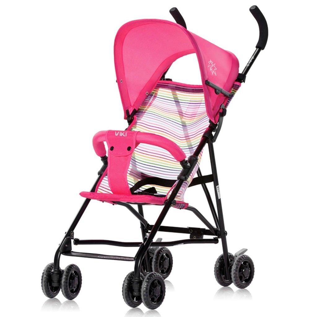Bicicletas HAIZHEN   Cochecito Carro del bebé Ligero Plegable Transpirable Neto Summer Sunshade Toldo Carro de Bebé 41  59  92 cm para recién Nacido (Color : 6)
