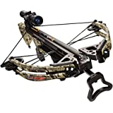 Carbon Express Covert CX-3 SL+ Crossbow Kit (Rope Cocker, 3 Arrow Quiver, 3 Crossbolts, Rail Lubricant, 3 Practice Points, 4x32 Deluxe Lighted Scope), Kryptek Highlander Camo (NEW 2015 Model)