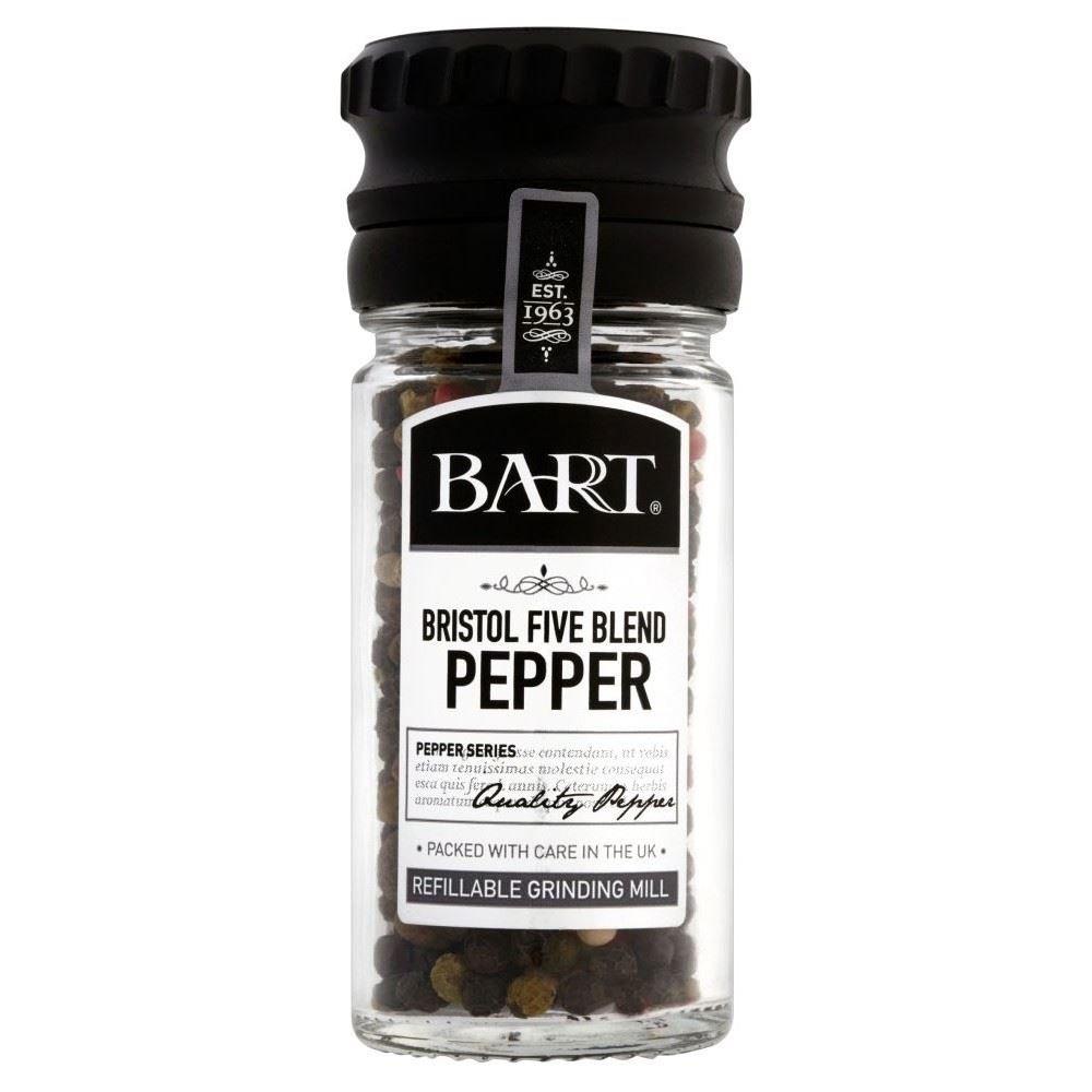 Bart Bristol Blend Five Pepper Mill (35g) - Pack of 6