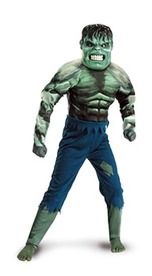 Desconocido Disfraz infantil de Hulk (5 a 7 años): Amazon.es ...