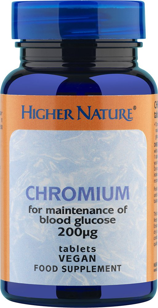 Higher Nature Chromium 200g 90 tabs by Higher Nature