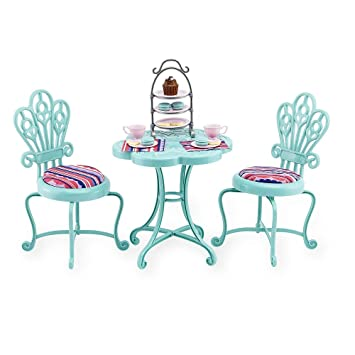 Amazoncom Journey Girls Bistro Table Set Patio Lawn  Garden - Bistro table set