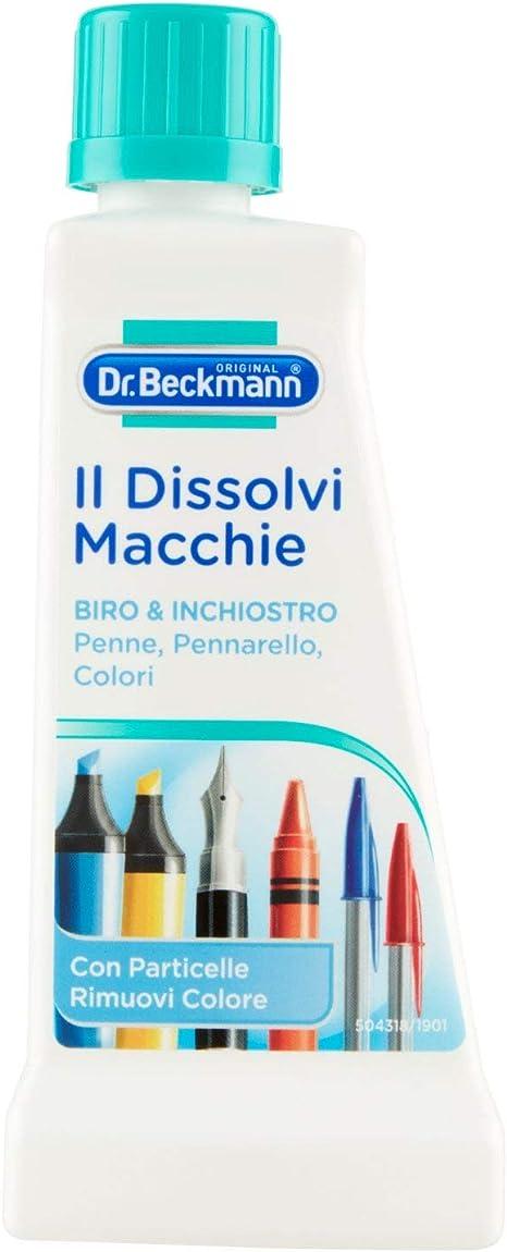 Dr Beckmann 124271 Quitamanchas dissolvi manchas, bolígrafos y tinta, multicolor, Multicolor, 1 Unidad