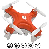 TRNDlabs SKEYE Nano 2 Drone - Aerobatic Flip Capability - Auto Take-Off &Land, Altitude Hold - Remote Control With Joystick - Compact Mini Quadcopter With One Year Warranty
