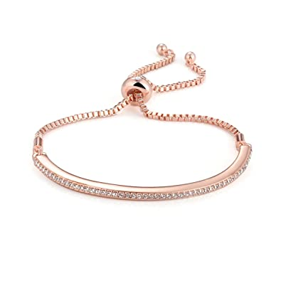 rose bracelet flask charade by gold main blush bangle