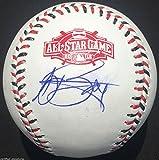 AJ BURNETT SIGNED 2015 ALL STAR BASEBALL PITTSBURGH PIRATES YANKEES PROOF COA J3