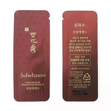 Sulwhasoo Timetreasure Renovating Serum EX 1ml x 100pcs (100ml) Sample  AMORE PACIFIC