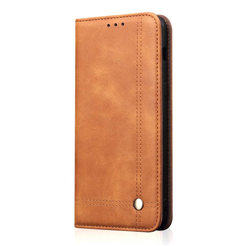 Hü lle fü r Huawei Mate 20/Mate 20 Pro Business Ledertasche PU Leder Handyhü lle Flip Case Cover Handy Schutz Tasche Schutzhü lle fü r Huawei Mate 20/Mate 20 Pro