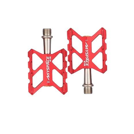 Haoyushangmao Pedales de Bicicleta - Rodamientos CNC de Aluminio ...