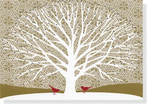 Price comparison product image Tree of Life Large Boxed Holiday Cards (Christmas Cards, Holiday Cards, Greeting Cards)