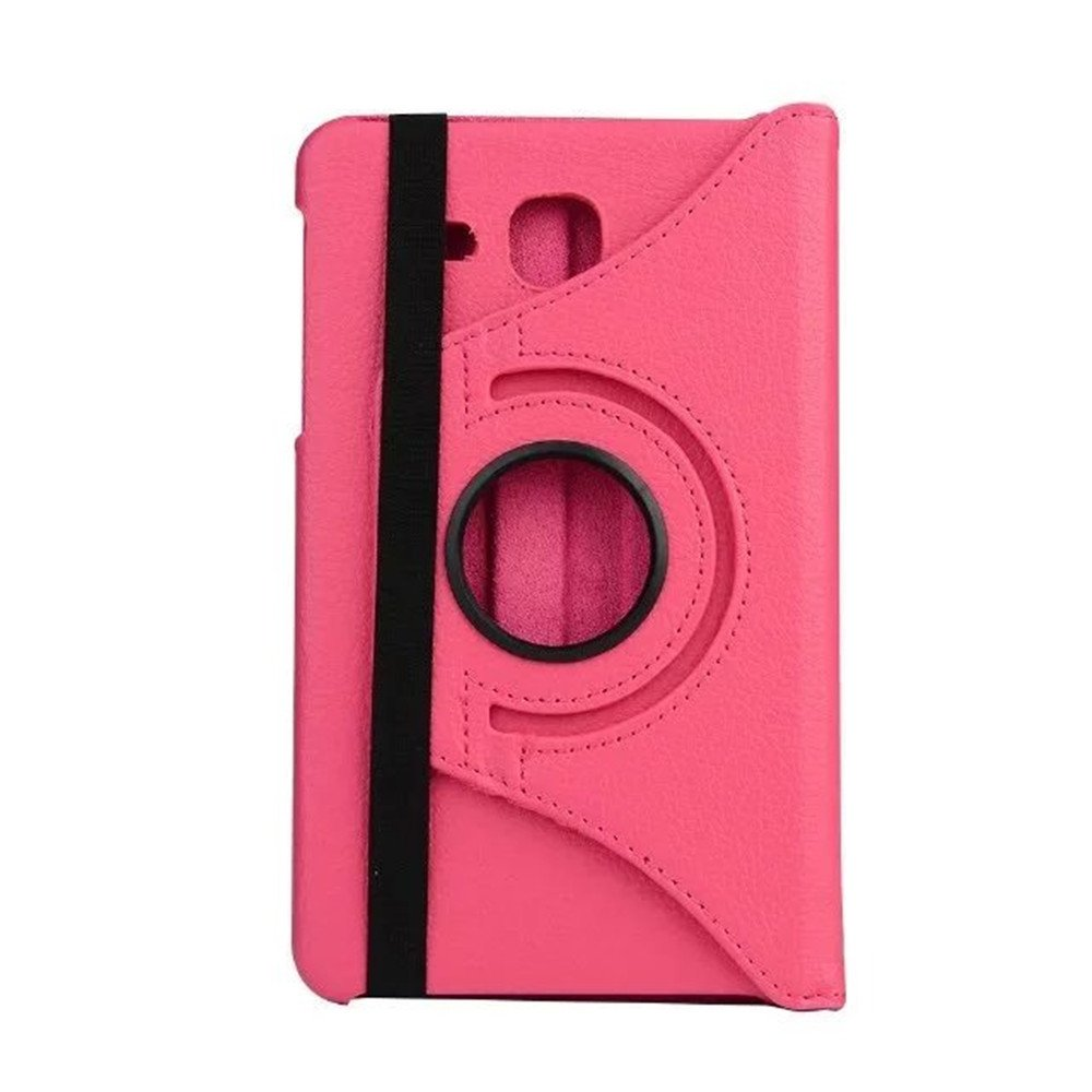 Hotpink FEING Samsung Galaxy Tab A 7.0 Case 360 Degree Rotating PU Leather Case iPad Case Smart Cover for Samsung Galaxy Tab A 7.0 SM-T280//SM-T285 with Stylus x1 /& Screen Film x1 /& Cloth x1 #XZL