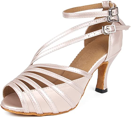 Man Boy Man/'s Ballroom Tango Latin Dance Dancing Shoes heeled Salsa 4 Color