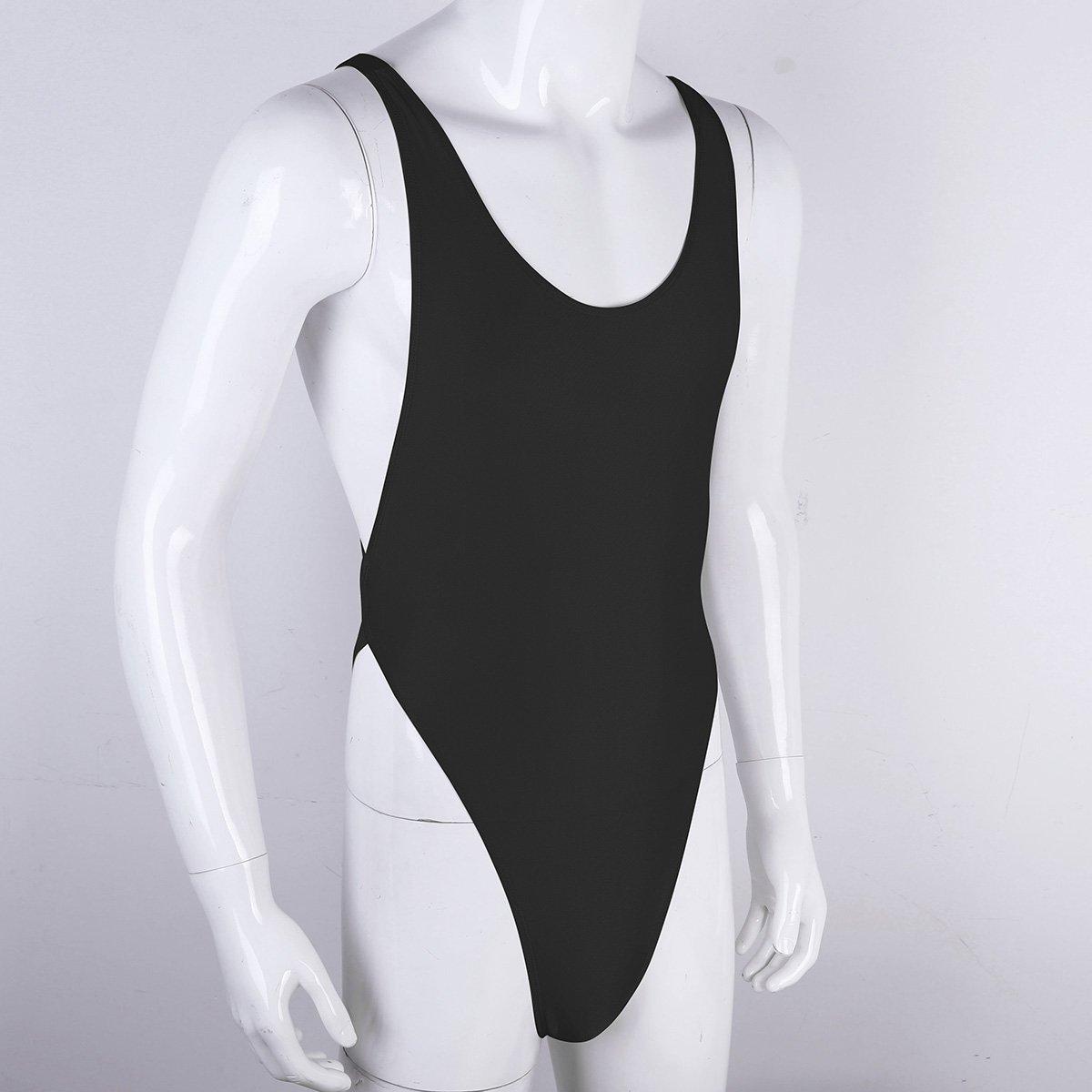 b1fc51dfb22 TiaoBug Mens One-Piece Freestyle Thong Leotard Bodysuit Jumpsuit Underwear  Sleepwear: Amazon.co.uk: Clothing