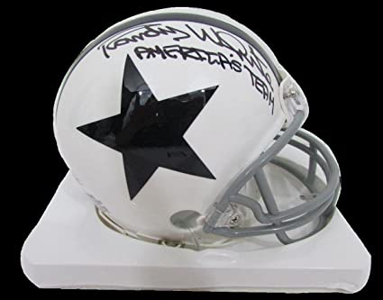 Image Unavailable. Image not available for. Color  Randy White Autographed  Mini Helmet - Inscribed Throwback ... c14aa2fca