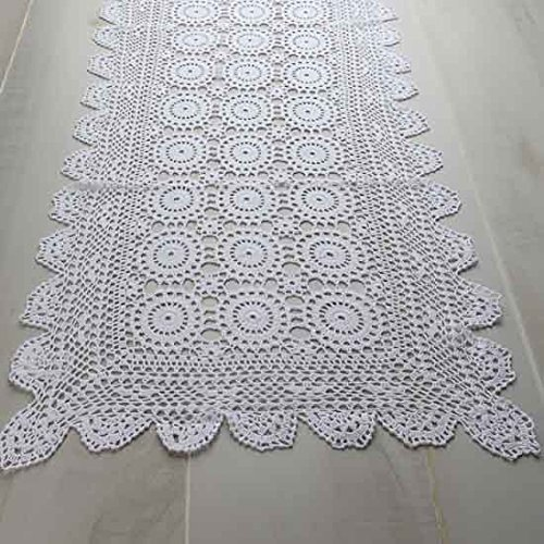 Hand Crocheted Runner (Factory Direct Craft 36