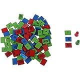 MagiDeal Coloré Nombre Comptage Bois Pieces Jouet Mathématique Educatif Pour Enfants