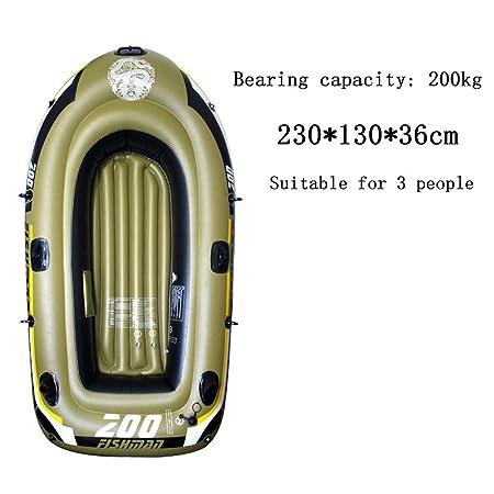 BOATb Kayak de mar 5 Personas, Barco De Pesca Inflable Barco ...