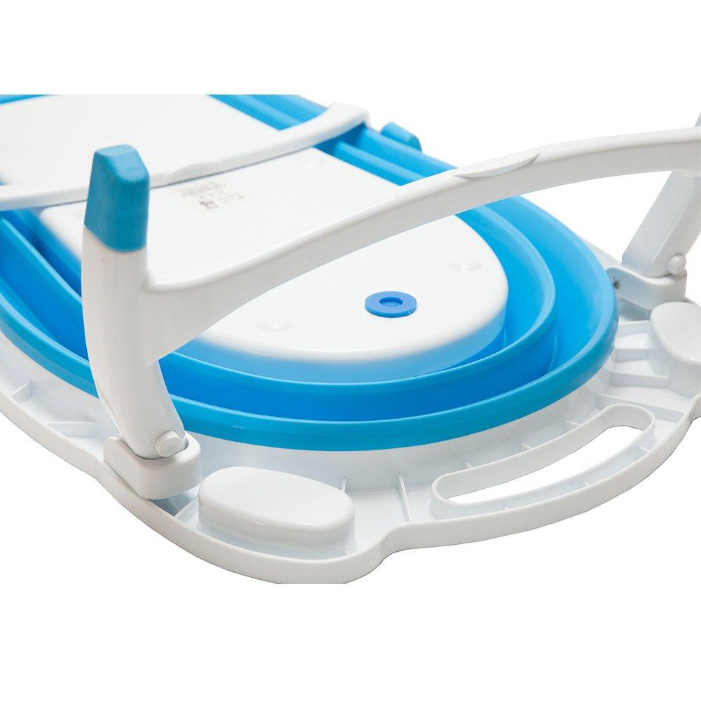 Amazon.com : Kidsmile Baby Bathtub Portable Collapsible Bathing Tub ...