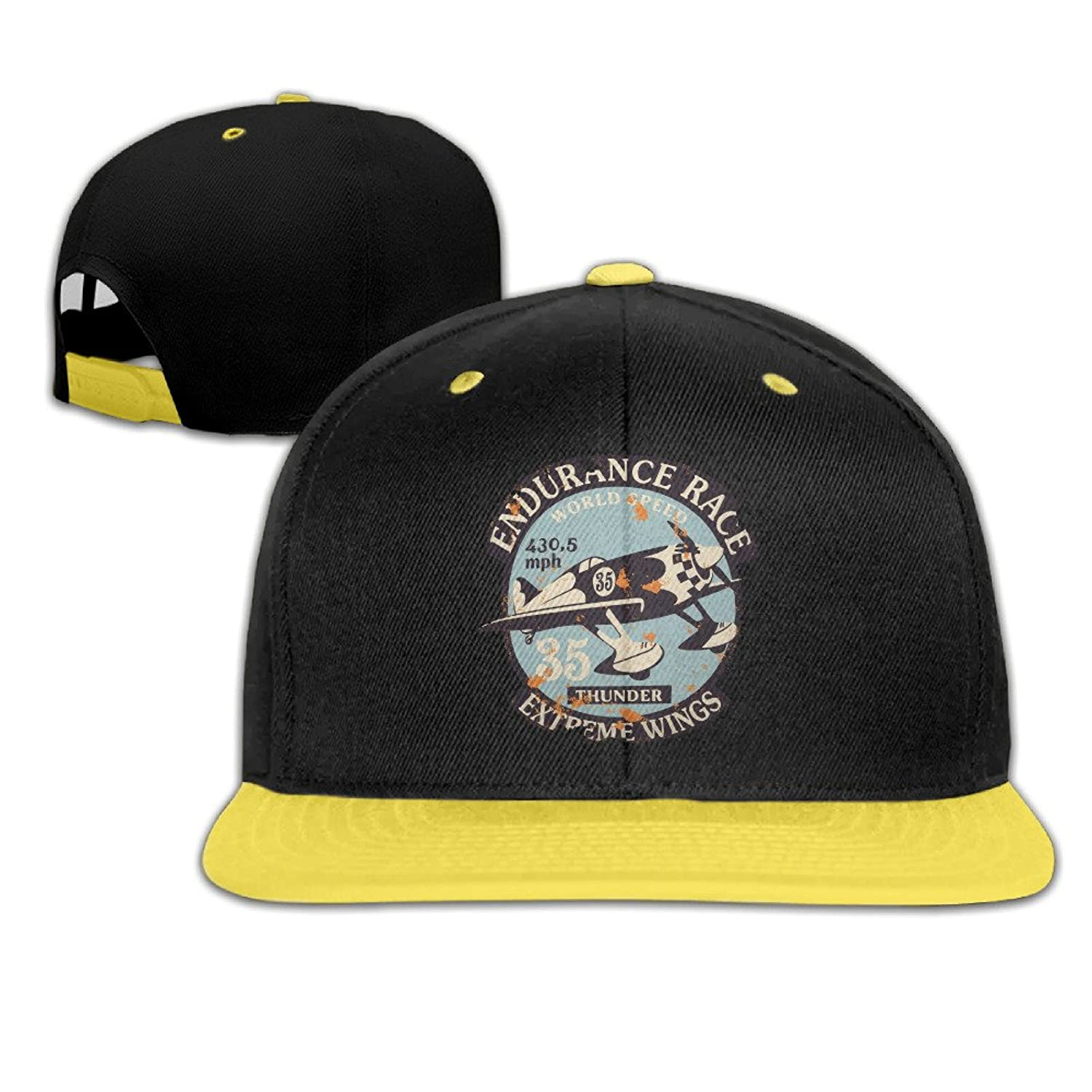 Child's Fitted Caps Air Racing Adjustable Snap Hat