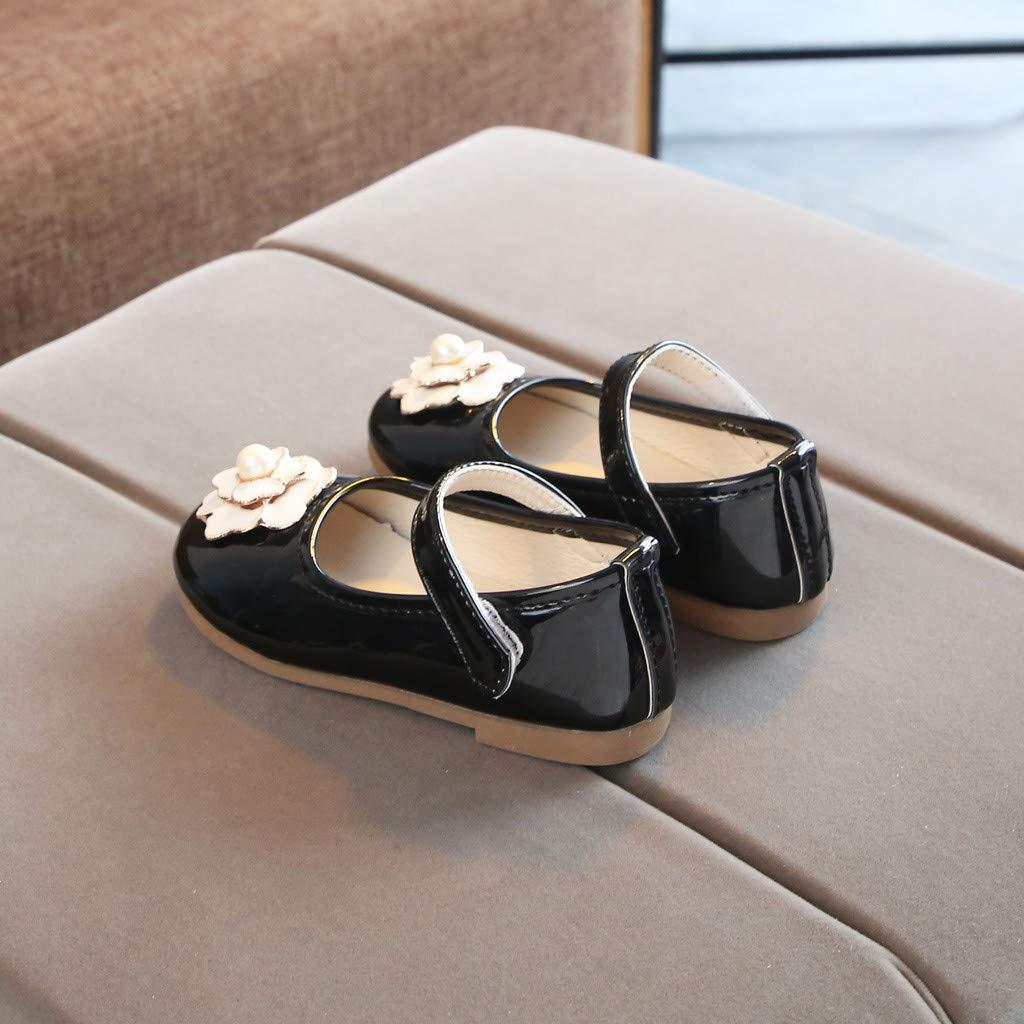 LIKESIDE Princess Slipper Flat Soft for Baby Black