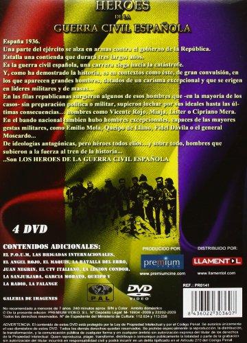 Heroes De La Guerra Civil Espanola Amazon De Pablo Chamorro Dvd