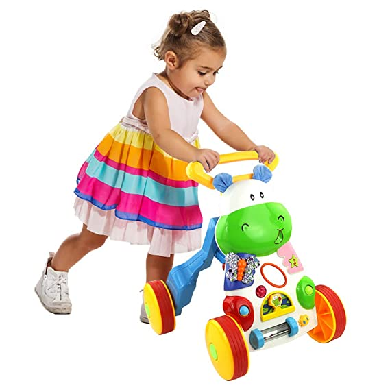 Symiu Juguetes Bebes Multifuncional Andadores Juguetes de Andador con Música Educativos Regalos Originales para Bebes Niña Niño 1+ Año
