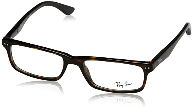 61d815e2f3 Ray-Ban RX5277 Glasses in Dark Havana RX5277 2012 52  Amazon.co.uk ...