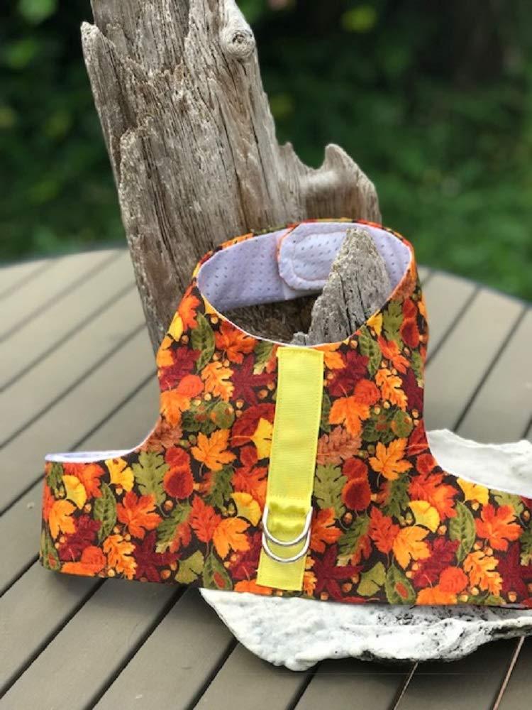 Fall Leaves Dog Harness