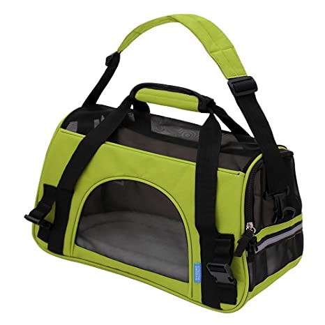 Ltuotu Portador del Perro Capazos Bolsa de Transporte para Mascotas Perros Gatos Animal Transportín Plegable,