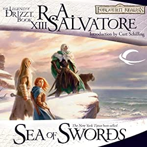 Sea of Swords: Legend of Drizzt: Paths of Darkness, Book 3 Audiobook