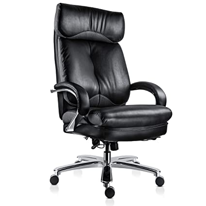 MDL Furniture Executive Office Chair Big and Tall 500lbs Ergonomic Home Office Chair Thick Padded Seat  sc 1 st  Amazon.com & Amazon.com : MDL Furniture Executive Office Chair Big and Tall ...