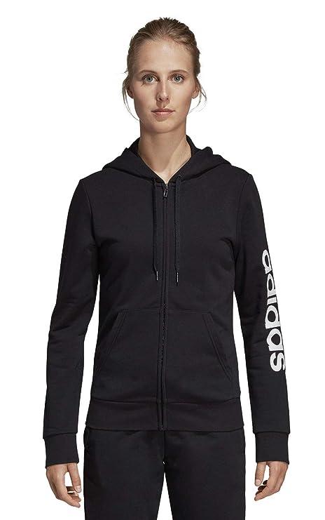 adidas WE Lin FZ HD Sweatshirt, Mujer