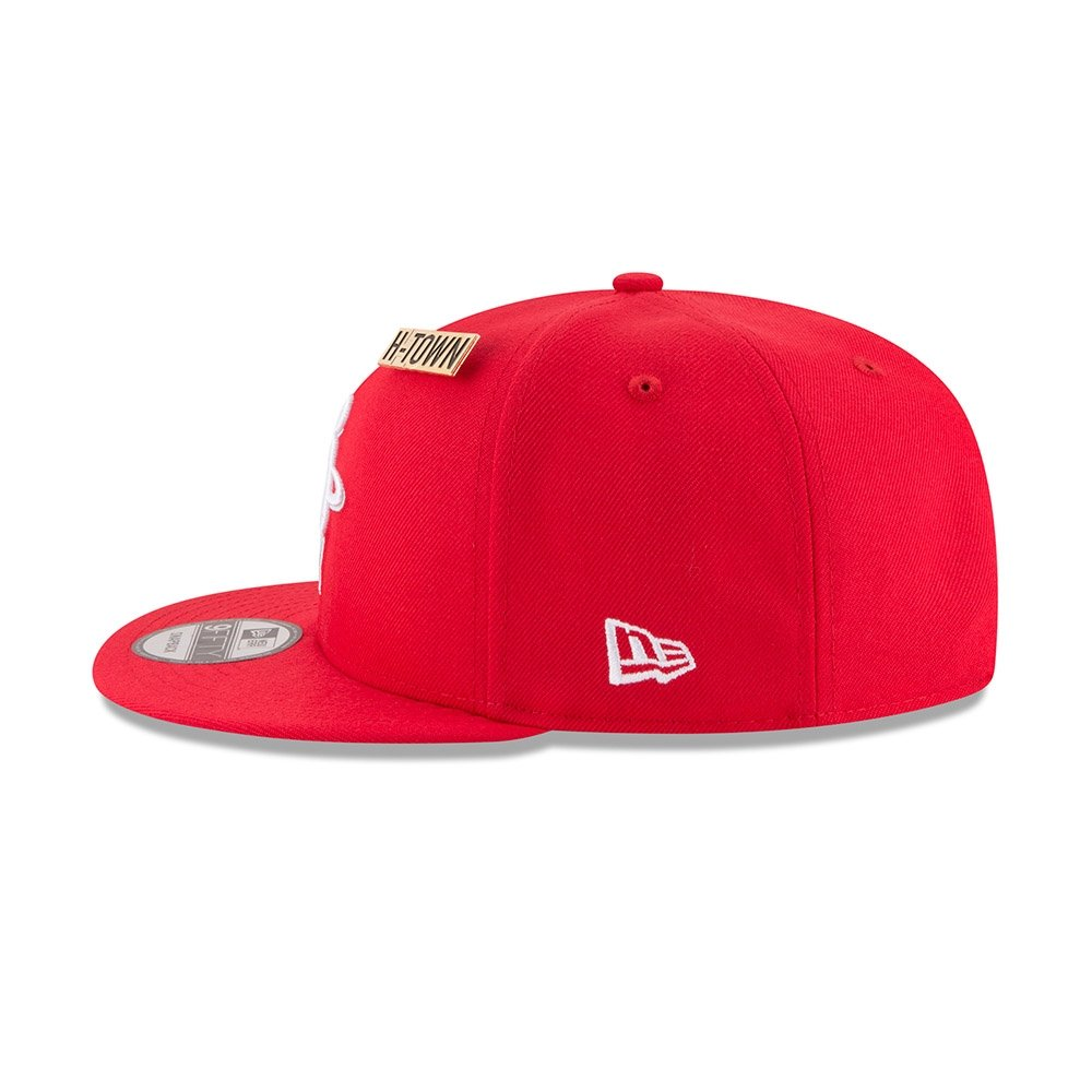 brand new 38abe 881bf ... release date new era nba houston rockets authentic 2018 draft 9fifty  snapback cap 0f6f1 d92fd