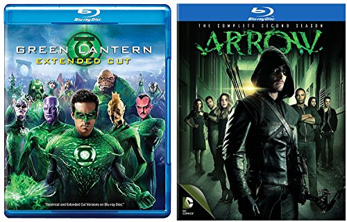 - Green Lantern + Arrow: The Complete Second Season Blu Ray DC Comics