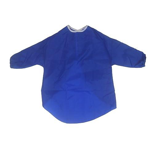Paint and Play Today Tablier de jeu étanche pour enfants - Peinture, faire cuire un gâteau, cuisiner - 5-7 ans - Bleu