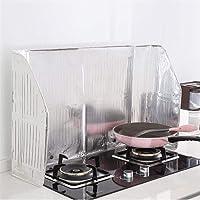 Goodevening Prevenire l'isolamento di Olio Splash Cooking Hot Baffle Kitchen Tool L'olio a Parete Splash Proof Baffle Fornello agas Foglio di Alluminio Oil Baffle