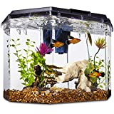 Imagitarium Semi-Hexagonal Aquarium Kit, 6.7 GAL