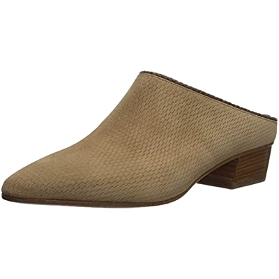 Amazon.com | Aquatalia Women's FIFE Perforated Suede Mule | Mules & Clogs