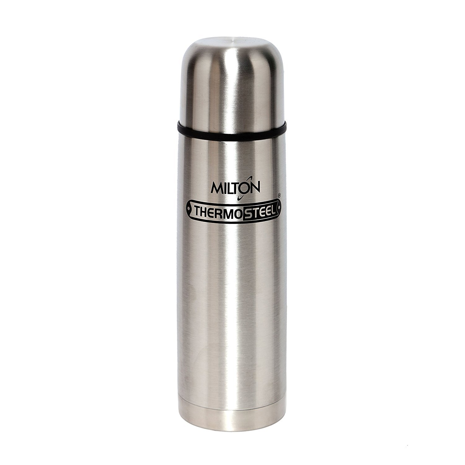 Milton Thermosteel Flip Lid Flask, 750 milliliters, Silver