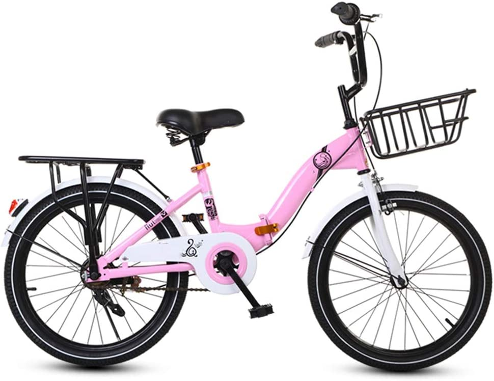 YUMEIGE Bicicletas 16 18 Bicicleta para niña de 20 Pulgadas, Bicicleta Infantil Asiento Trasero y Apoyo para los pies, Bicicleta Infantil para niños y niñas Regalo de 4-15 años Disponible: Amazon.es: Jardín