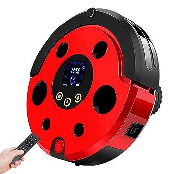 MIAO@LONG Robot Aspirador Escarabajo Barrer Arrastrar Chupar Tres En Uno Limpiador Autocargador & Sensor