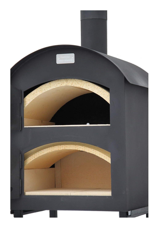 Bajo Set ramster Madera del Horno Horno de pizza Pan del Horno con equipo completo + accesorios: Amazon.es: Jardín