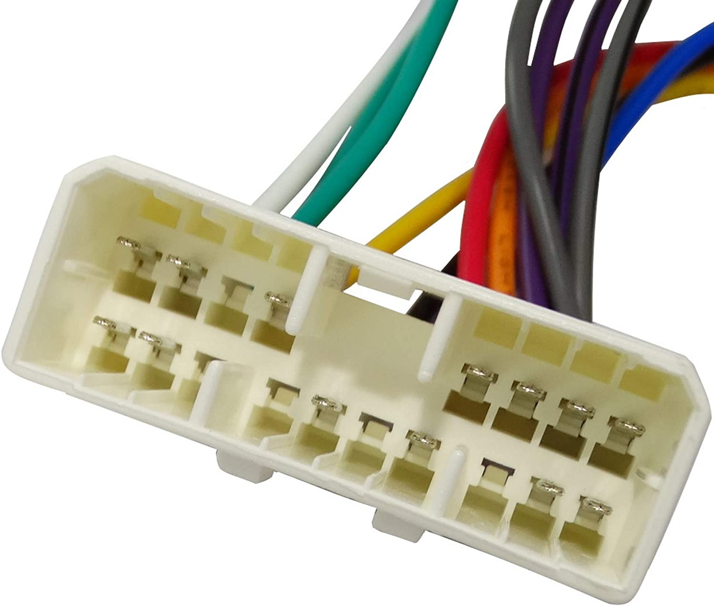 AERZETIX: Cable adaptador enchufe ISO para autoradio C2002