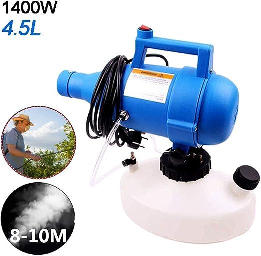 Aprilhp Pulverizador Nebulizador Electrico, Sulfatadora Fumigador Jardin Spray Agua Pulverizador para Control de Plagas y Protección de Plantas, 8m-10m Distancia de Pulverización: Amazon.es: Hogar
