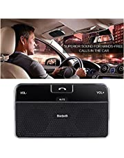 MAXIN Bluetooth 4.0 Visor Handsfree In-Car Speakerphone Car kit for iPhone, Samsung, HTC and all other Cellphones