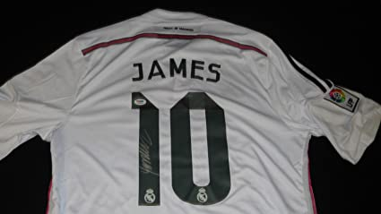 uk availability f4b7b fc043 James Rodriguez Signed Jersey PSA/DNA Real Madrid at ...