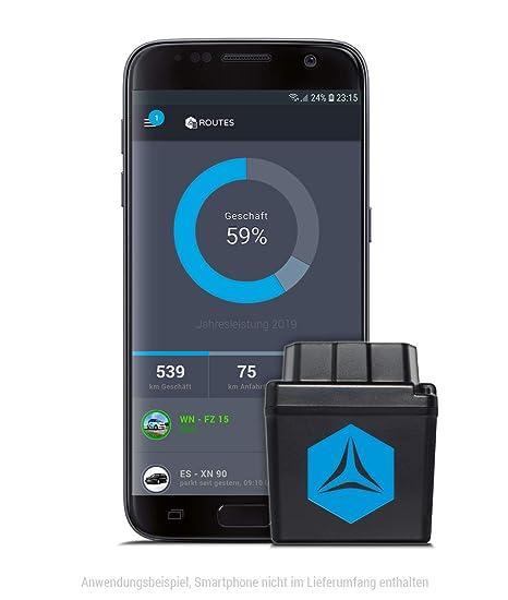 Fleetize – Libro de ruta electrónico, registrador de datos de viaje, localizador GPS con