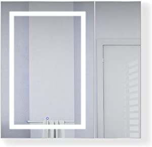 b9a88146b395 Lighted Medicine Cabinet w  Defogger + Dimmer
