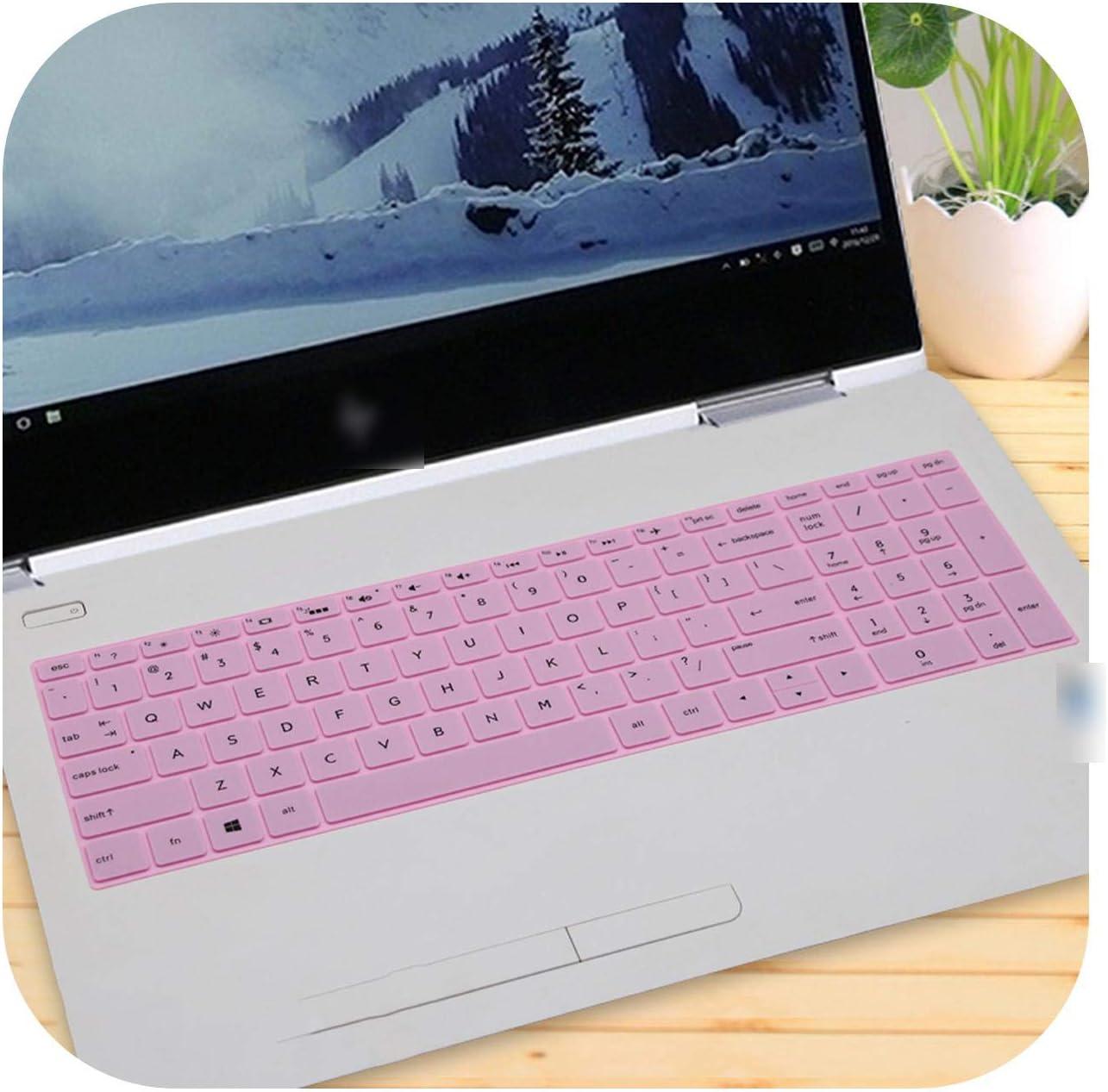 Pink- Funda protectora para teclado de ordenador portátil HP ...
