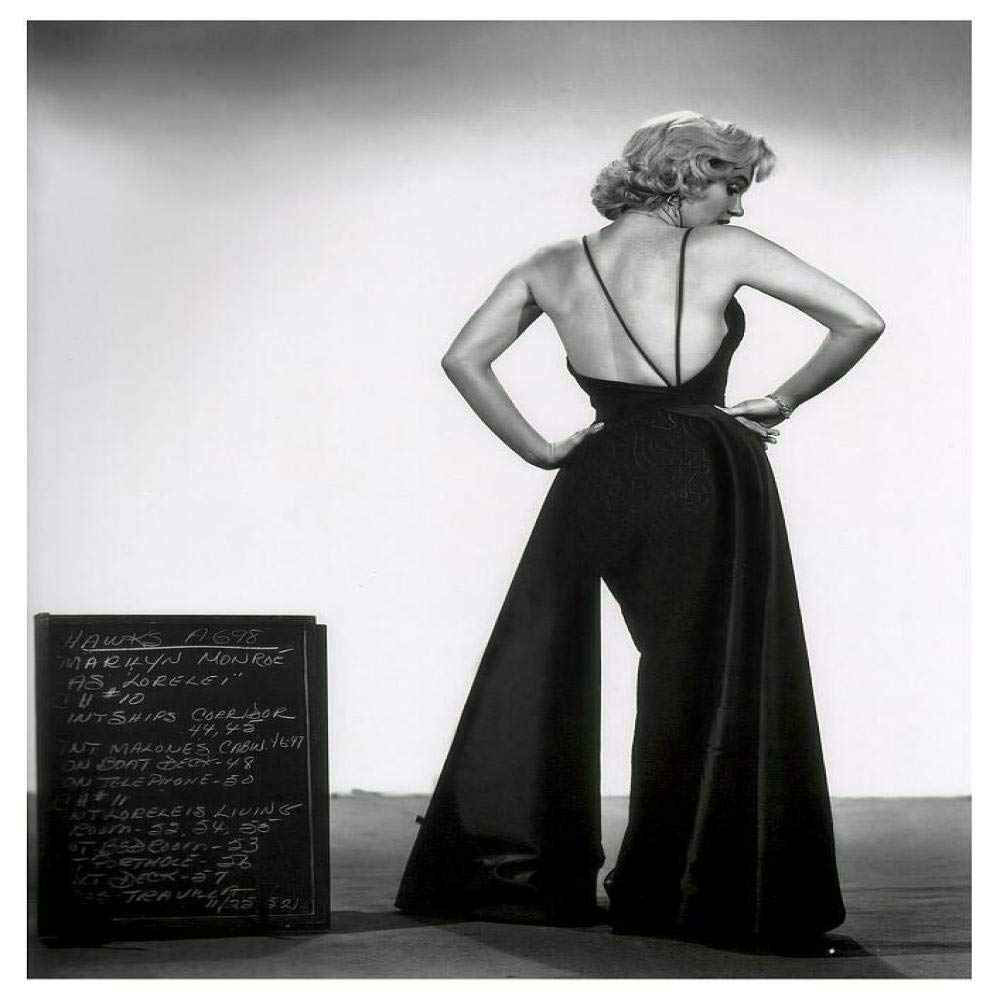 jzxjzx Marilyn Monroe Lienzo Arte película póster Sala Dormitorio ...